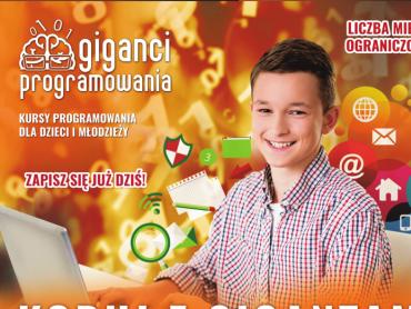 """""""Koduj z gigantami"""" to bezpłatne warsztaty z programowania dla dzieci w różnym wieku (fot. FB Giganci Programowania)"""