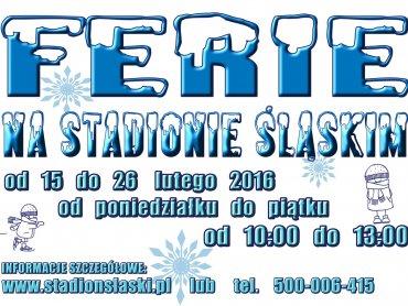Ferie na Stadionie Śląskim to mnóstwo bezpłatnych atrakcji dla dzieci w różnym wieku (fot. mat. organizatora)
