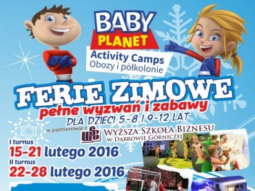 Baby Planet zaprasza na drugi turnus półkolonii zimowych, który odbędzie się 22-28 lutego (fot. mat. organizatora)