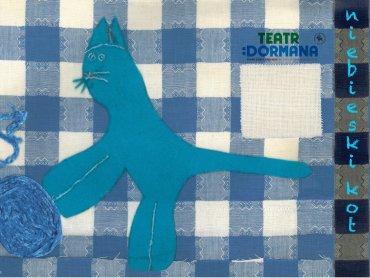Plakat do spektaklu to praca laureata konkursu plastycznego zorganizowanego przez Teatr Dormana (fot. mat. organizatora)