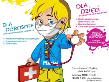 Warto zdobyć wiedzę na temat udzielania pierwszej pomocy (fot. materiały organizatora)