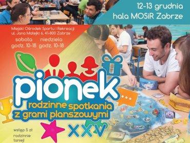 To już XXV edycja Pionka - rodzinnego spotkania z grami planszowymi (fot. mat. organizatora)