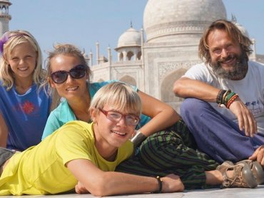 Rodzina Łopacińskich w podróż dookoła świata wyruszyła w 2014 roku (fot. mat. organizatora)