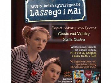 Dzieci znają Maję i Lassego z detektywistycznej serii książek wydawnictwa Zakamarki (fot. mat. organizatora)
