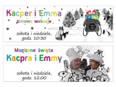 Seria o Kacprze i Emmie to ciepłe opowieści o przedszkolnej przyjaźni (fot. mat. Multikina)