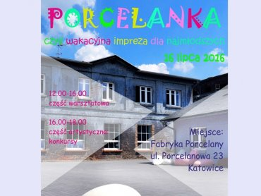Na terenie Fabryki Porcelany odbędzie się impreza dla dzieci (fot. mat. organizatora)