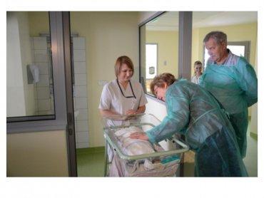 Laura i Antek to pierwsze dzieci urodzone w Centrum Zdrowia Kobiety i Dziecka w Zabrzu (fot. mat. szpitala)
