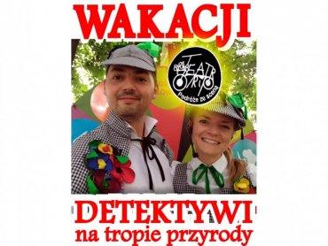 """Pożegnanie wakacji z """"detektywami"""" z Teatru Trip odbędzie się 31 sierpnia w Piekarach Śląskich (fot. mat. organizatora)"""