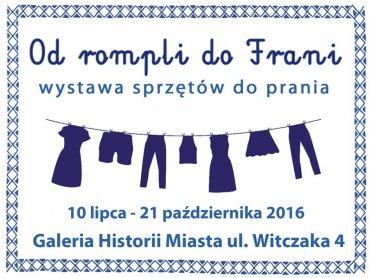 """Wystawę """"Od rompli do Frani"""" można będzie oglądać do 21 października (fot. mat. organizatora)"""