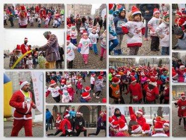 W biegu charytatywnym mogą wziąć udział dzieci, młodzież i rodzice. Ważne, by mieli na sobie stroje Mikołajów (fot. mat. organizatora)