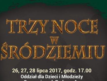"""""""Trzy noce w Śródziemiu"""" to bezpłatne seanse w sosnowieckiej bibliotece (fot. mat. organizatora)"""