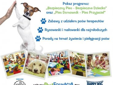 Psia edukacja odbędzie w sobotę w Galerii Sfera (fot. mat. prasowe)