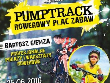 Otwarcie będzińskiego pumptracku odbędzie się 25 czerwca (fot. mat. organizatora)