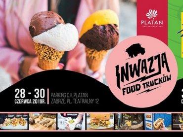 Food trucki zaparkują pod Centrum Handlowym Platan w Zabrzu (fot. mat. organizatora)