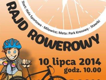 Podczas tego rajdu rowerowego dzieci na pewno nie będą się nudzić (fot. materiały MBP w Sosnowcu)