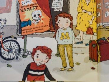 Ilustracja z książki o przygodach Lassego i Mai (fot. Ewelina Zileńska)