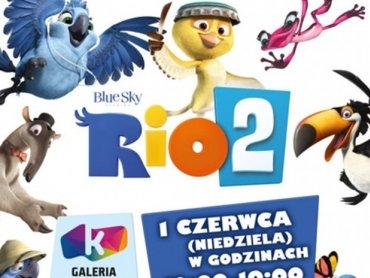 """Zabawa z bohaterami """"Rio 2"""" to coś, co dzieciakom może się spodobać (fot. materiały organizatora)"""