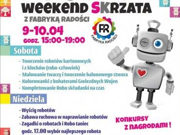 Robotowy weekend SKrzata połączony będzie z akcją charytatywną (fot. mat. organizatora)