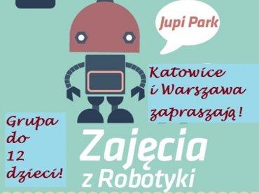 Zajęcia z Robotyki odbędą się w sali zabaw Jupi Park w Katowicach (fot. materiały organizatora)