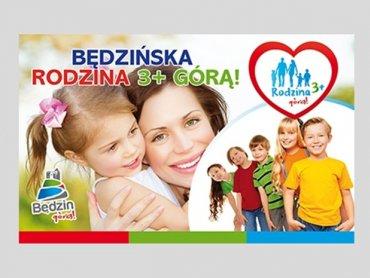 Będzińskie rodziny będą mogły korzystać ze zniżek dla rodzin wielodzietnych (fot. materiały prasowe)