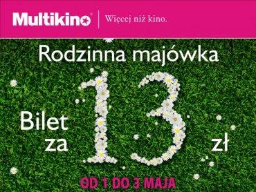 W długi weekend majowy za bilety na filmy animowane w Multikinie zapłacimy 13 zł (fot. mat. kina)