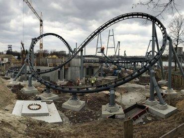 Lech będzie największym rollercoasterem w Europie Środkowo-Wschodniej (fot. Śląskie Wesołe Miasteczko)
