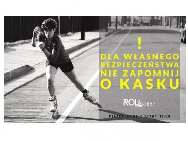 Przejazd przez miasto na rolkach i dyskoteka to świetny pomysł na przywitanie wakacji (fot. mat. organizatora)