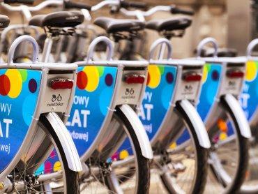 W czterech lokalizacjach w Tychach staną stacje z rowerami do wypożyczenia (fot. mat. UM Tychy)