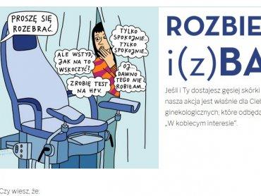 Nie wstydź się rozebrać i skorzystaj z akcji bezpłatnych badań ginekologicznych (fot. mat. organizatora)