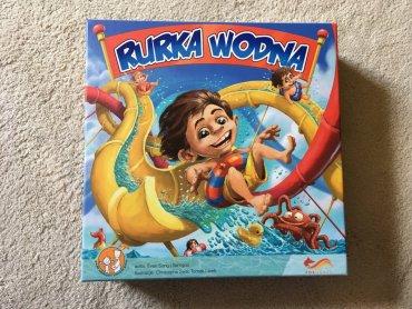 """""""Rurka wodna"""" to świetna gra dla całej rodziny (fot. Ewelina Zielińska/SilesiaDzieci.pl)"""