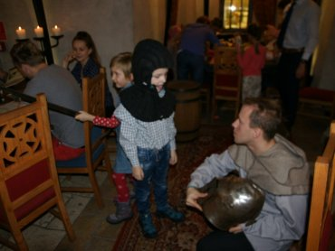 W weekend rycerskie gry i zabawy przygotuje Warownia Pszczyńskich Rycerzy (fot. mat. organizatora)
