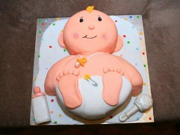 Świeżo upieczeni rodzice, oprócz tortu z okazji nowonarodzonego członka rodziny będą się też cieszyć słodkim smakiem dodatkowych funduszy na jego utrzymanie przez rok (fot. foter.com)