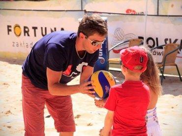 Jeden z najlepszych polskich siatkarzy plażowych poprowadzi warsztaty w Cieszynie (fot. Łukasz Kardynał/www.sportsphotos.eu)