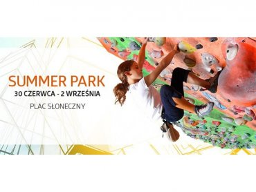 W strefie aktywności Silesia Summer Park nauczymy się wspinaczki i skimboardingu (fot. mat. organizatora)