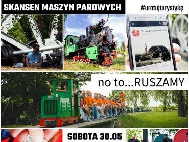 Skansen Maszym Parowych mieści się tuż przy Kopalni Srebra w Tarnowskich Górach (fot. mat. organizatora)