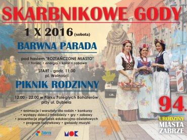 Skarbnikowe Gody to impreza zorganizowana z okazji 94 urodzin miasta Zabrze (fot. mat. organizatora)