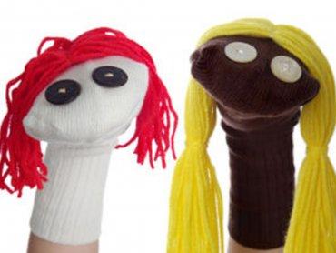Skarpeciaki to świetne zabawki, które wykonacie na warsztatach w DeKato (fot. mat. DeKato)