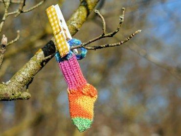 Podczas świątecznych warsztatów w MOK będzie można stworzyć m.in. skarpety na prezenty (fot. pixabay)