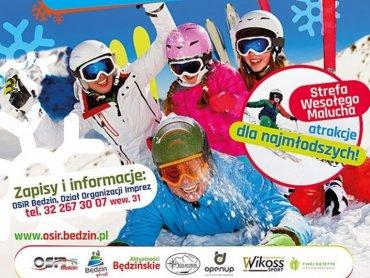 W Zawodach Narciarskich w Slalomie Gigancie o Puchar Prezydenta Miasta Będzina mogą brać udział dzieci, młodzież i dorośli (fot. mat. organizatora)