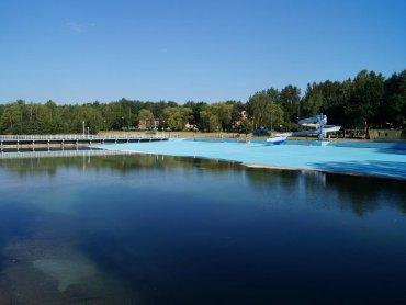 Od 5 lipca można będzie korzystać z nowych atrakcji kąpieliska Słupna (fot. materiały kąpieliska)