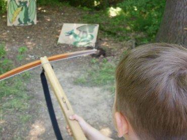 W najbliższy weekend w Warowni Pszczyńskich Rycerzy dzieci będa walczyć ze smokami (fot. mat. organizatora)