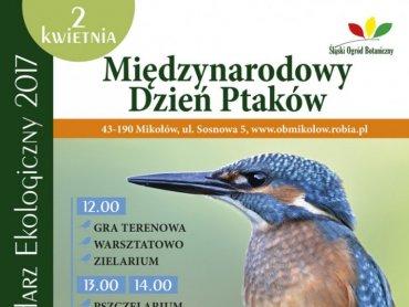 W Śląskim Ogrodzie Botanicznym, podobnie jak w latach ubiegłych, będzie obchodzony Międzynarodowy Dzień Ptaków (fot. mat. ŚOB)