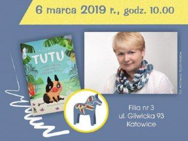 Spotkanie z autorką odbędzie się w Miejskiej Bibliotece Publicznej Filia nr 3 w Katowicach (fot. mat. organizatora)