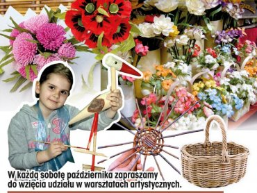 W każdą sobotę października dzieci mogą uczestniczyć w ciekawych warsztatach zorganizowanych w CH Auchan (fot. materiały organizatora)