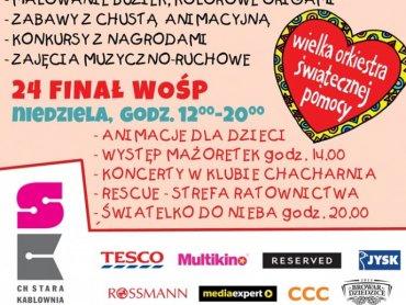 Weekend Skrzata to nie tylko zabawy dla dzieci - w ten weekend organizatorzy będą wspierać WOŚP (fot. mat. organizatora)