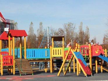 Strefa Aktywności Rodzinnej funkcjonująca na osiedlu Zamkowym (fot. mat. organizatora)