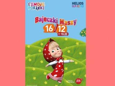 """""""Bajeczki Maszy"""" będzie można obejrzeć 16 grudnia w kinie Helios w Dąbrowie Górniczej (fot. mat. organizatora)"""