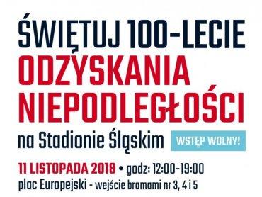 Impreza z okazji Święta Niepodległości odbędzie się 11 listopada na Stadionie Śląskim w Chorzowie (fot. mat. organizatora)