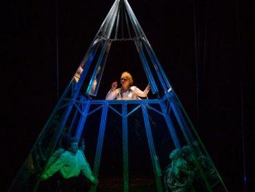 """""""Szklana Góra"""" to spektakl, który możecie oglądać w Teatrze Lalek Banialuka (fot. mat. Teatr  Lalek Banialuka)"""