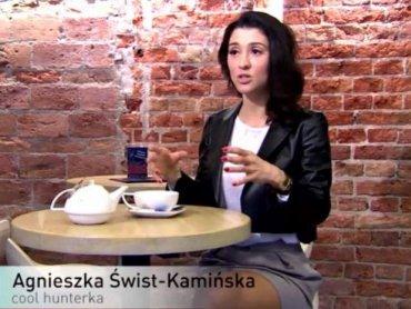 Stylistka Agnieszka Świst-Kamińska, założycielka Szkoły Męskiego Stylu, organizatorka Letniego Studium Stylizacji w Katowicach (fot. mat. TVN)